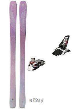 Blizzard Black Pearl 78 Ski Set 163 cm Freeride Ski Damen Allmountainski J17