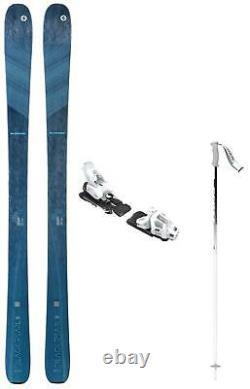 Blizzard Black Pearl 88 ladies snow skis 159cm w-Bin (+POLES @ BuyItNow) NEW'21