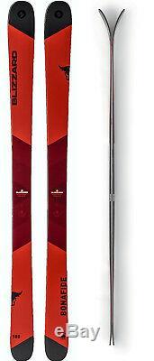Blizzard Bonafide Flat Ski Set 180 cm Freeride Ski Herren Allmountain J17