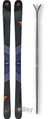 Blizzard Brahma 88 Ski Set 180 cm Freeride Ski Allmountain Skiset Herren J18