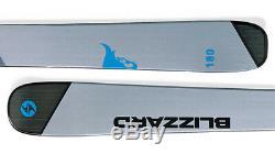 Blizzard Brahma Ca Flat Ski Set 180 cm Freeride Ski Herren Allmountain J17