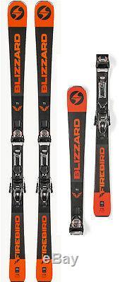 Blizzard Firebird Ti Ski Set + Bindung 172 cm Rennski Race Ski All Mountain J18