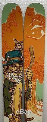 BlueHouse Maestro All Mountain Powder Rocker Flat Skis 178cm 118mm Underfoot New