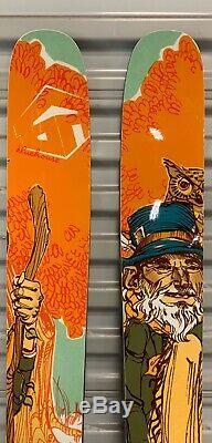 BlueHouse Maestro All Mountain Rocker Flat Skis 178cm 118mm Marker Griffon 13