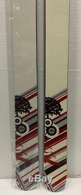 BlueHouse Signature All Mountain Powder Rocker Twin Skis 176mm 108mm Underfoot