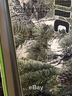 Chronic Mossy Oak Alpine Snow Skis 105C All Mountain Wood Core Metal Edges 178cm