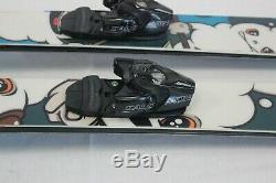 CoreUpt Salomon Driver Binding Downhill Ski Twin Tip All Mountain 168 Cm Skis