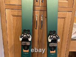DPS Cassier F95 Skis With Tyrolia Attack 13 Bindings And DPS Phantom Treatment