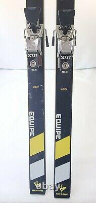 Dynamic Equipe VR17 Skis 200cm with Salomon 727 Bindings