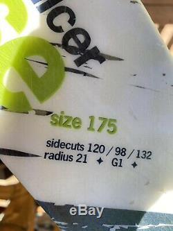 Dynastar Slicer 6th Sense Twin Tip All Mountain Ski 175cm