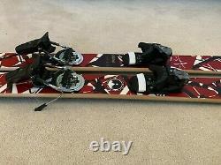 Edward Van Halen Frankenski Parlor Skis (Custom Built)