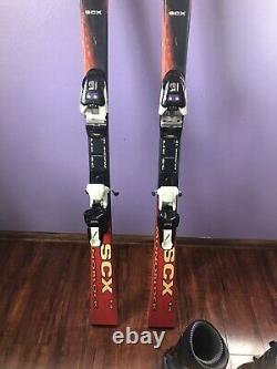 Elan Skis SCX 15 Monoblock Woman And Boots Raichle Black Size 8