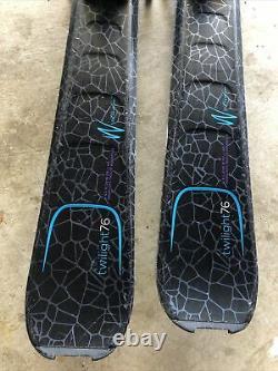 Elan Skis Womens/Girls 140 Twilight76 Look Bindings