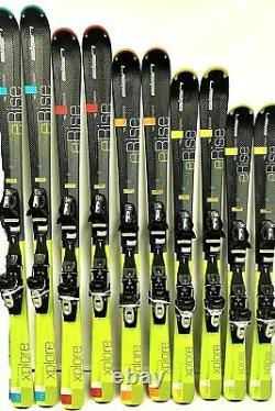 Elan eRise Xplore Skis & EL 10 ESP Bindings Tuned Waxed 130,140,150,160,170