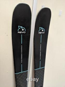 Ex Demo 2019 Movement Revo 82 160cm Skis All Mountain Womens Inc Marker Griffon