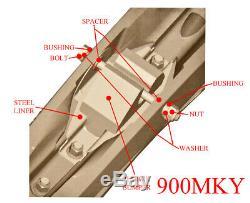 Exo-S All-Terrain Skis, Mount Kit & 4 Carbides Many 1997-2017 Yamaha SEE LIST