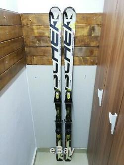 Fischer RC4 Super Race 180 cm Ski + Fischer RC12 Bindings Winter Sports Fun Snow