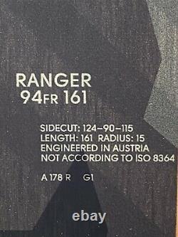 Fischer Ranger 94FR Skis, 161cm