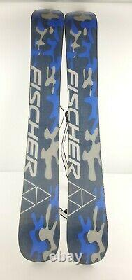 Fischer Web XXL Short Snow Skis With Bindings 99cm