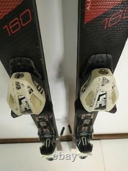 Fischer XTR Pro MTN X 160 cm Ski + Fischer RS10 Bindings Sport Fun Winter Snow