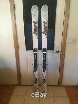 Hart One 185 All mountain touring ski with Mark or Duke bindings