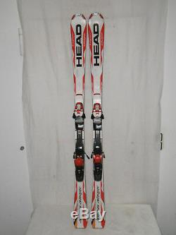 Head Supershape Top Ski Allmountain Carver 155 CM + Bindung