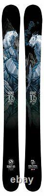 Icelantic Glacier Ski Shop Scout Junior's 105 Skis 143cm NEW 2021