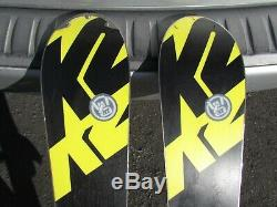 K2 A. M. P. Aftershock 174 cm Skis with Marker MX Bindings All Mountain Rocker