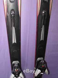 K2 Apache Crossfire All-Mountain skis 160cm with Salomon s912 Light ski bindings