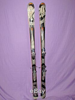 K2 Apache Crossfire All-Mountain skis 167cm with Rossignol Axial 2 120 bindings