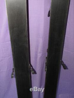 K2 Apache OUTLAW All-Mountain skis 167cm with Marker M1000 ski bindings SNOW