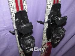 K2 Apache Radius X All-Mountain skis 163cm with MARKER MOD 10.0 adjust. Bindings