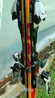 K2 Axis Mod X All Mountain Skis with Marker Titanium 1200 Piston Control Binding