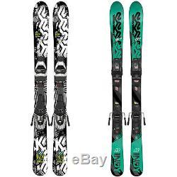 K2 Indy Ski Set Kinder-Ski mit Bindung Rocker-Ski All-Mountain Allround Skier
