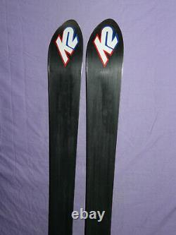 K2 Phat Luv T9 Women's 153cm All-Mountain Powder Alpine SKIS no bindings