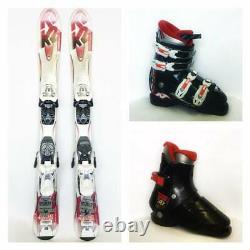K2 Rocker Kids Ski package 88,124cm Shoe sizes youth 8-kids4 Your Choice