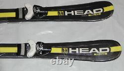 Kids skis Head Supershape team 87cm + Tyrolia Peak 4.5 bindings adjustable New