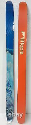 LIFTOPIA All Mountain Powder Rocker Flat Skis 189cm 118mm Underfoot New