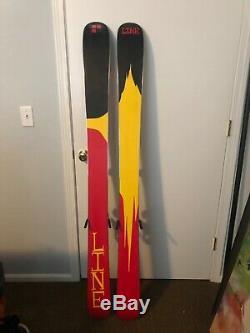 Line Skis, Sir Francis Bacon 172 / 108 all mountain, powder, alpine touring