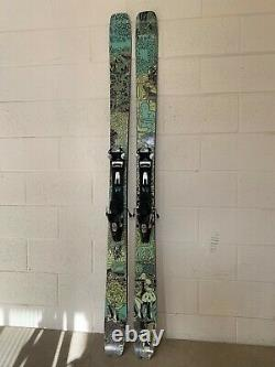 MOMENT PB&J Skis + G3 Alpinist Climbing Skins