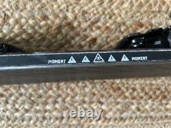 Moment Deathwish Skis 184 cm with Salomon Shift Binding-Exc Cond used a few times
