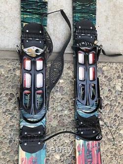 Mounain MTN Approach Foldable Skis for Snowboarding Climbing