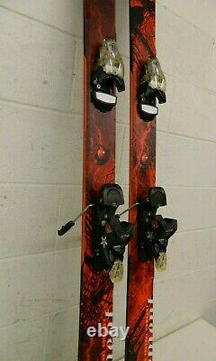 Movement Thunder 187cm 122-89-111 Twin-Tip Skis withMovement Light Bindings GREAT
