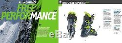NEW 2018 Lange XT 130 100mm 29.5 Mens All Mountain Freeride Ski Boots