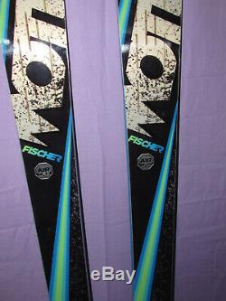 NEW! Fischer MOTIVE 86 Ti skis 175cm with All Mountain Rocker no bindings NEW