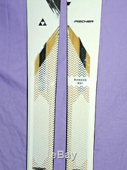 NEW! Fischer Ranger W98 Women's All-Mountain Skis 156cm FreeSki Rocker W 98 NEW