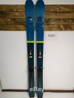 NEW Volkl 100Eight 173 cm Ski + NEW Tyrolia SR 10 Bindings All Mountain Fun