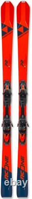 New Fischer RC One 72 downhill skis & RSX 12 GW Powerrail Brake 85 Binding 170cm