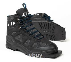 New Whitewoods 301 XC Size 46 cross country 75mm 3 Pin ski boots 11M 12.5W 45EUR