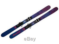 Nordica Santa Ana 93 Lady Freeride ski (169 cm) Testski + Marker